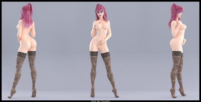 Aiko Toy Plastic by OneSix3d