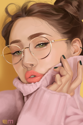 Photo Study (Speed Paint Video) by emametlo