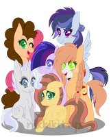 My Next Gen. Mane 6 (with video) by starshame