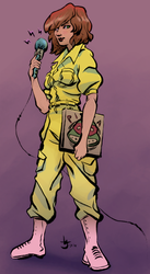 April O'Neil by Abt-Nihil