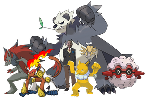 Wade's Pokemon Team by DispoableButtons