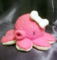 Little Pink Octopus Plushie by Rydiah