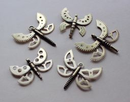 Clockpunk pendants 13 by Astalo
