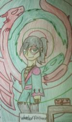 Kubo as Wheel of Fortune by SassyWritter