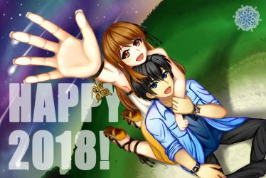 The Duet Paradox - Happy New Year 2018! by earthfairys