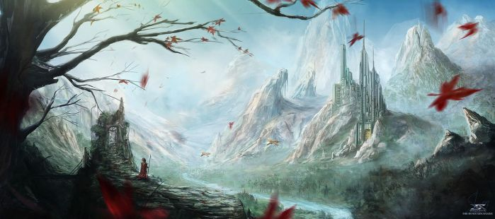 The Seven Mountains by Shue13