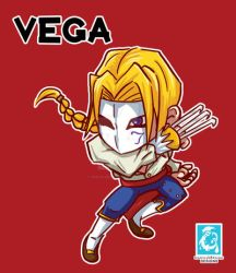 Street Fighter V -Vega [Maplestory Style] by RedCaliburn