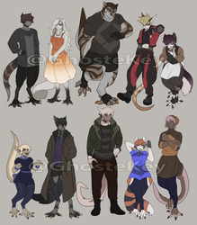 Adama Adopts ( Sold! ) by GhosteKey