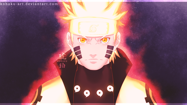 Naruto Uzumaki | Six Path by Kohaku-Art