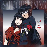 Ultimate Sailor Alucard x Walter by ErinPtah
