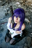 Highschool of the Dead [IV] - Busujima Saeko - 02 by YukiRichan