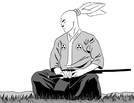 Usagi Yojimbo (inks) by MJ-Daniels