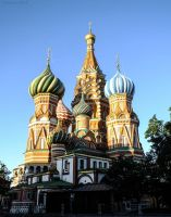 St. Basil`s Cathedral by WestMauE