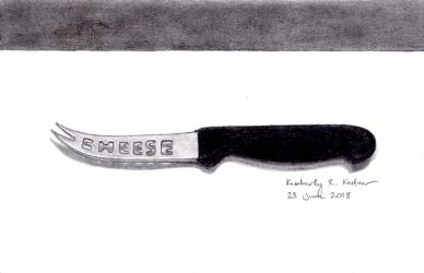 Cheese Knife by LuckyNumber113