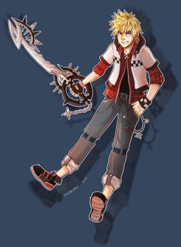 ROXAS KH3 Fandesign by Kexell