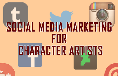 Social Media for Character Artists by ThirdPersonSymphony