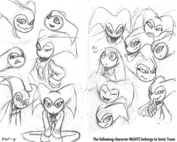 NiGHTS sketches 4 by VOL-K