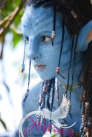 Neytiri close up by Official-AmyFantasy