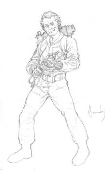 Dr. Venkman from Ghosbusters by UltimateRubberFool