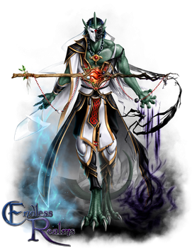 Endless Realms player class - Animancer by jocarra