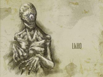 #31DaysOfMonsters Day9: Likho by franciscomoxi