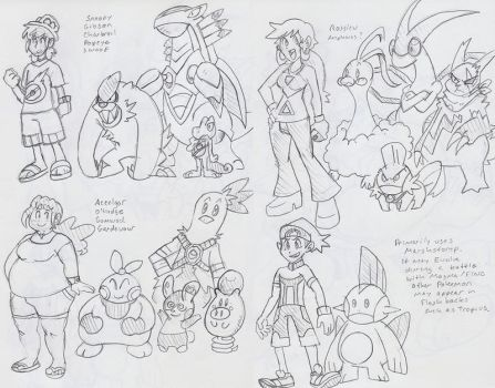 PXMY: ORAS Team Concepts by BlueIke