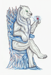 White bear by avafury