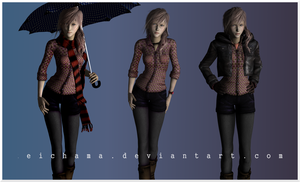 Lightning casual meshmod project WIP by keichama