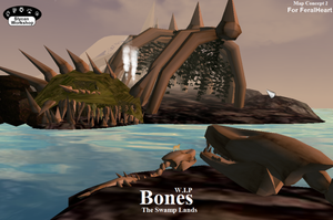 Bones - The Swamp Lands by Some-Art