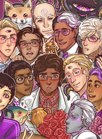 All the Cecils by roika-elfili