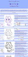 How to make easy pixel in PainttoolSai by KyubeyGirl