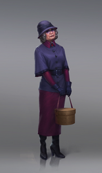 Rich old woman by inSOLense