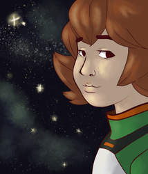 Pidge's Night Sky Version 4 by Dontgiveafvck