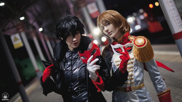 Persona 5 cosplay by KayladFrost