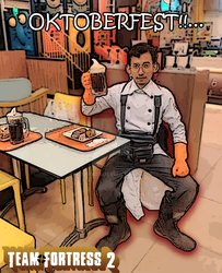 Medic drink root-beer at AW by Azuma29