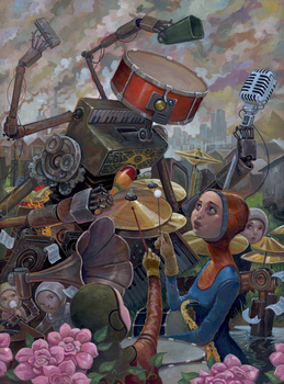 Birth of the Wub Wub by jasinski