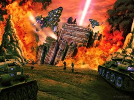 Fire Assault by padisio