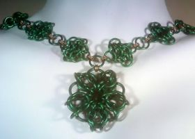 Celtic Rosettes Choker - 1 by sirlevaris
