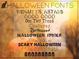 Halloween Fonts || Clari by RadiantDay