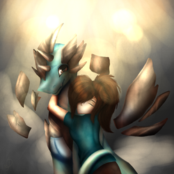 Peace and Arty by ArtyTheArtistDragon