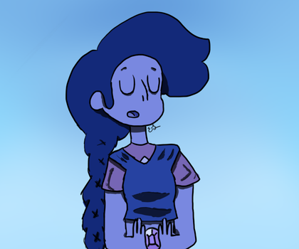 Just A Thought Stevonnie by Cloudkicker4Me