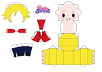 male panty papercraft by aliceXale