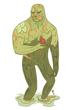 Swamp Thing by RyanKonzelman