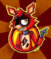 Foxy the Pirate Fox by Spacecat-Studios