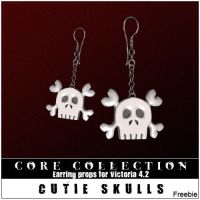 CC CutieSkulls Freebie by inception8-Resource