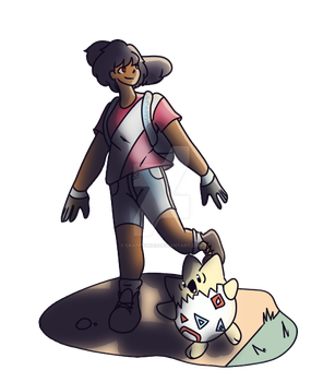 Me As A Pokemon Trainer