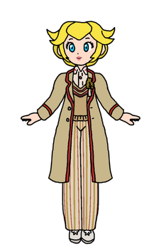 Peach - 5th Doctor by KatLime