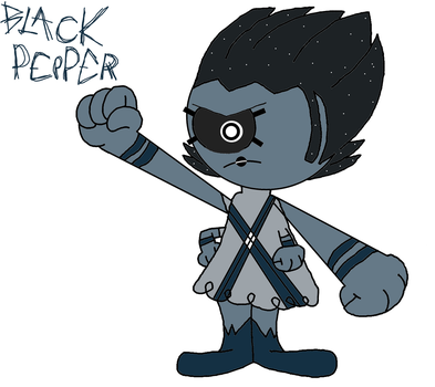 The Flavoroids: G2- Black Pepper by 3dmarioworld