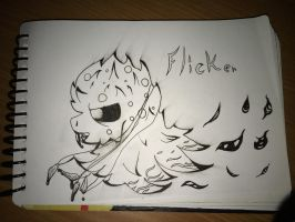 Inktober Day 3 (Poison : Flicker) by TempLily