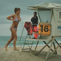 Gemma and her tiny lifeguard by sinan7964